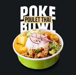 Image de Poke Bowl Poulet Thaï